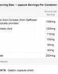 CLA-supplement-facts