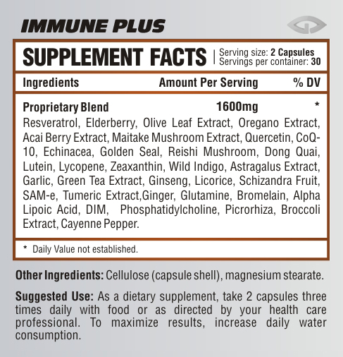 Immune-supplement-facts