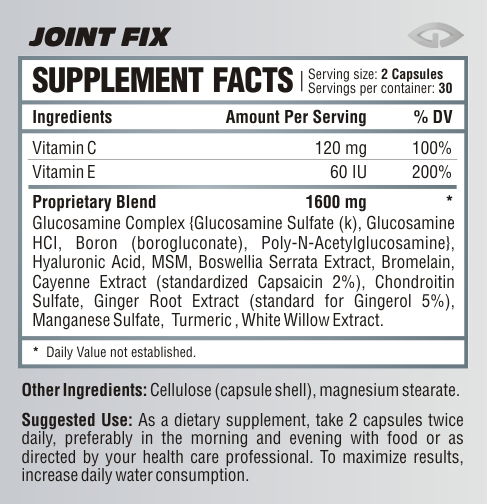 Joint-supplement-facts